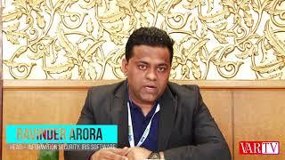 Ravinder Arora, Head, Information Security- IRIS Software at 16th IT FORUM 2018