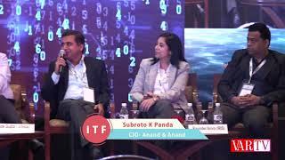 Subroto K Panda, CIO- Anand & Anand  at 16th IT FORUM 2018
