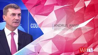 Andrus Ansip, European Commissioner For Digital Single Market and Vice President European Commission