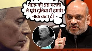 जानिये Amit Shah ने क्यों बताया Nehru की इस गलती को हिमालय से भी बड़ा ?