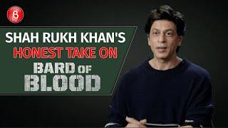 Shah Rukh Khan's HONEST Take On His Latest Netflix Show Bard Of Blood | Emraan Hashmi