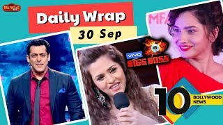 Bigg Boss 13 Fight Begins, Dalljiet Kaur Wins Heart, Ankita Lokhande In Baaghi 3 | Top 10 News