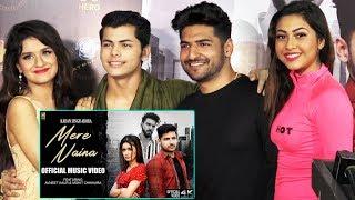 Mere Naina Song Launch   Karan Singh Arora, Avneet Kaur, Siddharth Nigam
