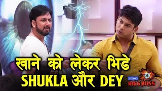 Siddharth Shukla And Dey BIG FIGHT Over Food | Bigg Boss 13 Latest Update