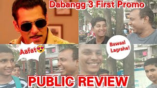 Dabangg 3 First Promo PUBLIC REVIEW, Fans Are Liking Chulbul Pandey