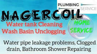 NAGERCOIL     Plumbing Services ~Plumber at your home~   Bathroom Shower Repairing ~near me ~in Buil