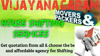 VIJAYANAGARAM    Packers & Movers ~House Shifting Services ~ Safe and Secure Service  ~near me 1280x
