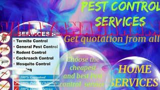VIJAYANAGARAM     Pest Control Services ~ Technician ~Service at your home ~ Bed Bugs ~ near me 1280