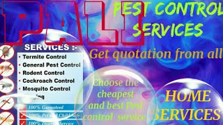 PALI    Pest Control Services ~ Technician ~Service at your home ~ Bed Bugs ~ near me 1280x720 3 78M