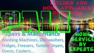 PALI    KITCHEN AND HOME APPLIANCES REPAIRING SERVICES ~Service at your home ~Centers near me 1280x7