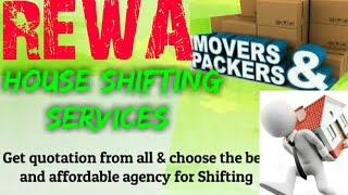 REWA    Packers & Movers ~House Shifting Services ~ Safe and Secure Service  ~near me 1280x720 3 78M