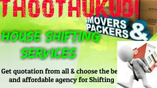 THOOTHUKUDI     Packers & Movers ~House Shifting Services ~ Safe and Secure Service  ~near me 1280x7