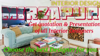 MIRZAPUR     INTERIOR DESIGN SERVICES ~ QUOTATION AND PRESENTATION~ Ideas ~ Living Room ~ Tips ~Bedr