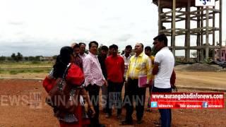 Aurangabad:गंगापूर तालुका क्रीडा संकुलाचे काम लवकर सुरु करा अन्यथा आंदोलन करू-आबासाहेब शिरसाट