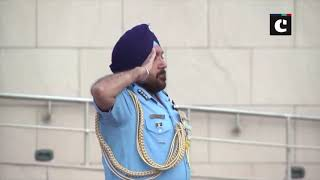 Newly-appointed Air Vice Chief receives guard of honour at IAF HQ