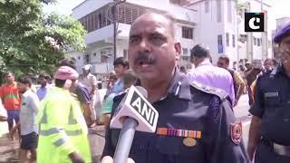 Bihar floods: Stranded residents rescued in NDRF boats in Patna's Rajendra Nagar