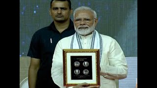 PM Modi releases commemorative Rs 150 coins, on Mahatma Gandhi birth anniversary.
