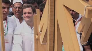 Congress Party Padyatra on 150th Birth Anniversary of Mahatma Gandhi