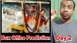 War Movie Box Office Prediction Day 2