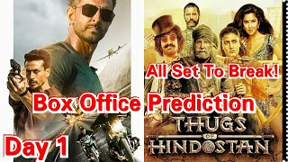 War Movie Box Office Prediction Day 1, Which Is Expected To Break Thugs Of Hindostan Record!