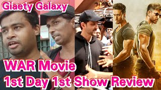 War Movie Public Review 1st Day 1st Show At Gaiety Galaxy Theatre In Mumbai