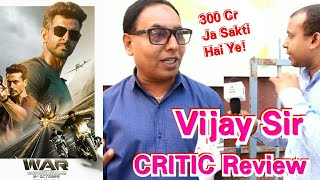 WAR Review By Film Critic Vijay Sir