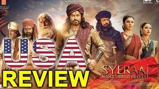 Sye Raa Narasimha Reddy Movie USA Premier Show  Review | Chiranjeevi Review | Top Telugu TV