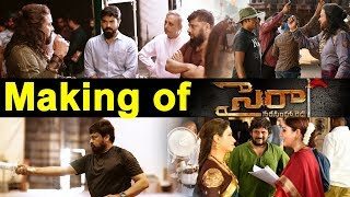 Sye Raa Making | Behind Scenes of Sye Raa Narasimha Reddy | Chiranjeevi  Ram Charan | Top Telugu TV