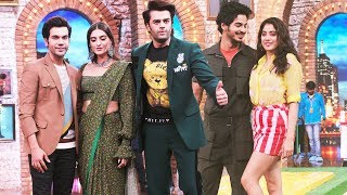 Janhvi Kapoor, Ishaan Khattar, Sonam And Rajkummar Rao Shoot For Movie Masti With Maniesh Paul