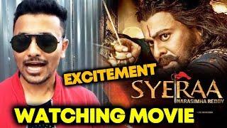 SyeRaa Narasimha Reddy Watching Now   Excitement   Expectations   Chiranjeevi   Ram Charan