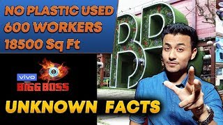 Unknown Facts Of Bigg Boss 13 LAVISH HOUSE | 600 Workers, NO Plastic