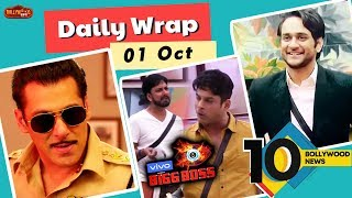 Dabangg 3 Teaser Out, Vikas Gupta On Devollena Bigg Boss 13, Shukla & Sidharth Fight | Top 10 News