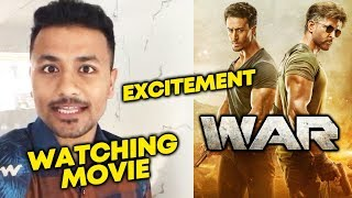 WAR Watching Now   Excitement   Expectations   Hrithik Roshan Vs Tiger Shroff