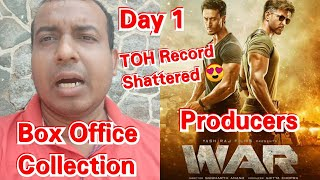 War Movie Box Office Collection Day 1 And Screen Count Details