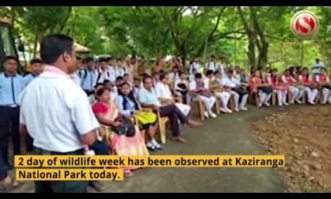 2nd Day of Vanya Prani Saptah (Wildlife Week) observed at Kaziranga National Park