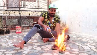 BURNING MY MOM's SHOES ???? !!! *PRANK GONE WRONG*
