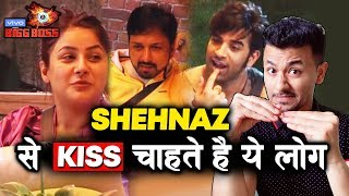Shehnaz Gill To KISS Paras And Sidharth Dey | What Is Your Reaction? | Bigg Boss 13