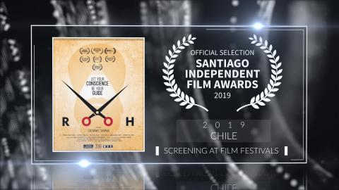 Rooh - Official Selection - Santiago Independent Film Awards 2019 (Chile) | RFE
