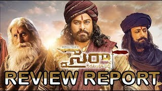 Sye Raa Narasimha Reddy Movie Review & Rating    Chiranjeevi, Ram Charan    Bhavani HD Movies