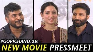 Gopichand, Tamannaah New Movie Opening - Director Sampath Nandhi || Bhavani HD Movies