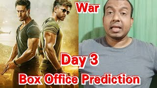 War Movie Box Office Prediction Day 3