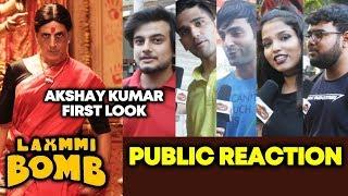 LAXMMI BOMB Akshay Kumar First look Poster | PUBLIC REACTION | Kanchana Remake