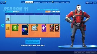 FORTNITE SEASON 11 BATTLE PASS LEAKED! (OFFICIAL)