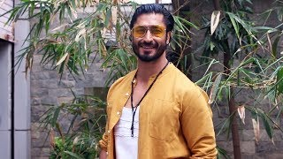 Vidyut Jammwal Spotted Outside Producer Vipul Shah's Office