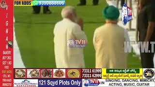 PM Modi, Ex PM Manmohan Singh, Sonia Gandhi, JP Nadda Pays Tributes At Rajghat | Delhi