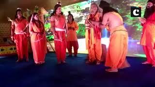 MoS Faggan Singh Kulaste plays Agastya Muni in 'Luv Kush Ramlila'