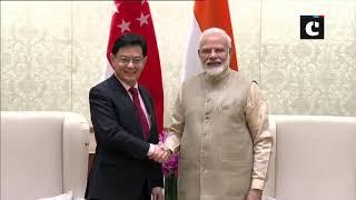 Singapore Deputy PM Heng Swee Keat meets PM Modi in Delhi