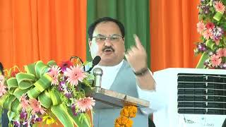 Shri J.P. Nadda addresses Shakti Kendra and Booth Sammelan at Gandhi Maidan, Hazaribagh, Jharkhand