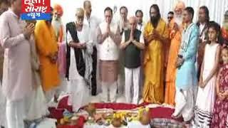 રાજુલા-રામ કૃષ્ણ ટ્રસ્ટ દ્વારા હોસ્પિટલનું CM હસ્તે ખાત મુહર્ત