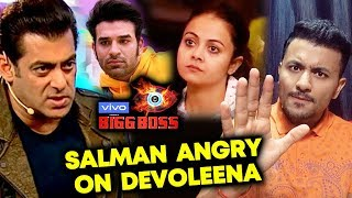 Salman Khan LASHES OUT At Devoleena; Here's Why | Weekend Ka Vaar | Bigg Boss 13
